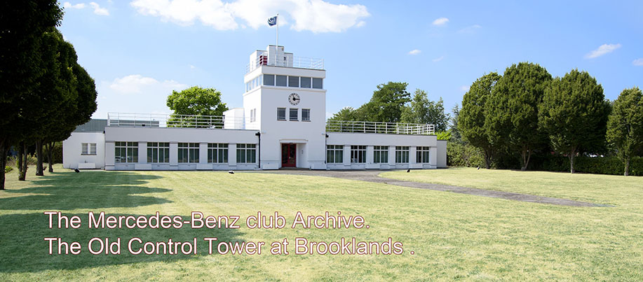 The Old Control Tower at Brooklands.