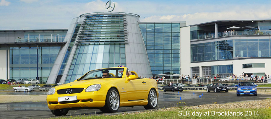 SLK day at Brooklands 2014